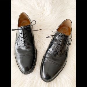 Rockport Leather Oxford Cap Toe Shoe
